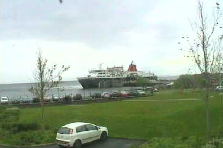 webcam image showing Brodick bay